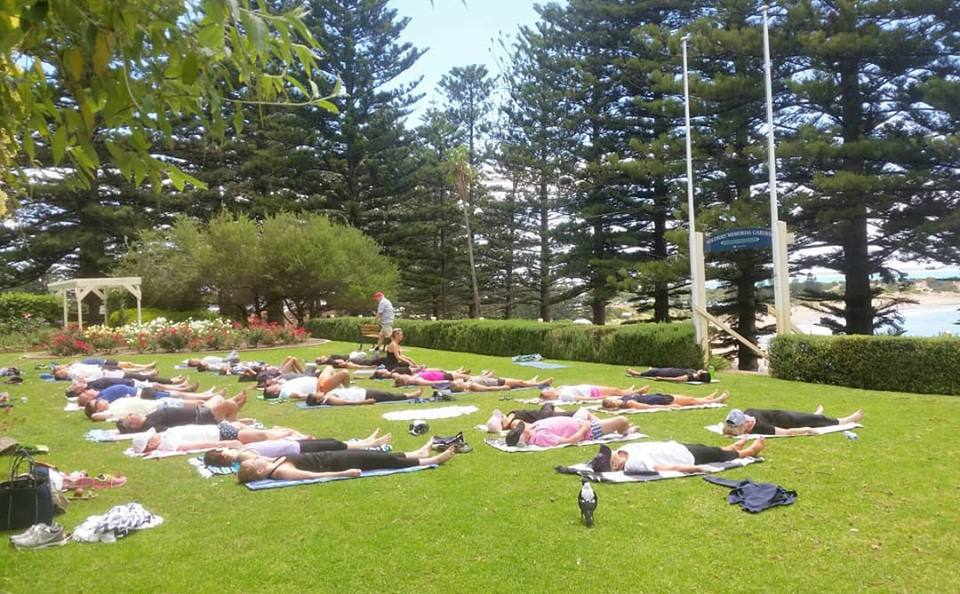 Travelling Yoga Teacher South Australia